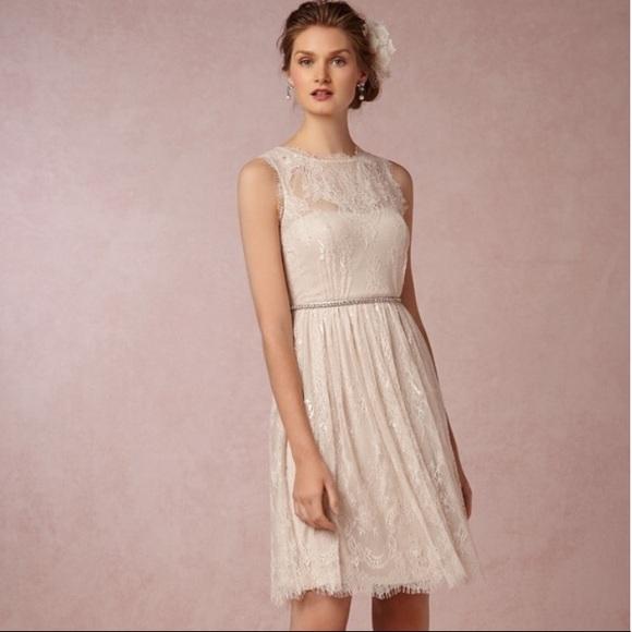 8f82edeb5d0 BHLDN Dresses   Skirts - BHLDN Hitherto Celia Lace Cocktail Wedding Dress